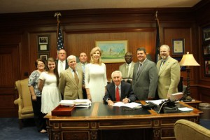 Senate Bill 158 Signing