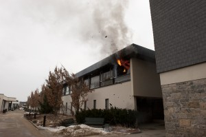A fire in a chemistry laboratory at SUNY Canton shut down the entire campus for a week, and the university had to send all of the students home.
