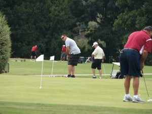 The putting contest, organized by Dave Posey, was a great success!